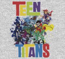 Teen Titans Splatter . Kids Clothes