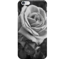 Pink Roses in Anzures 2 B&W iPhone Case/Skin