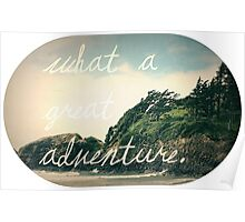 What a Great Adventure Poster
