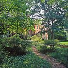 Dumbarton Oaks, Washington DC, the House in its setting by Priscilla Turner