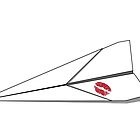 Paper Airplane 8 by YoPedro