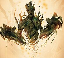 Groot by jizzinmypants