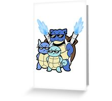 Squirtle Squad Greeting Card