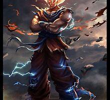 Dragon Ball Z Case by DarkSliders