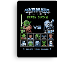 Ultimate Alien Death Match Canvas Print