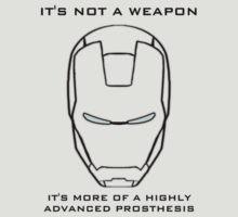 It's not a weapon - Iron man by JayCorz