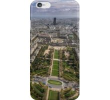 Paris from above 2 iPhone Case/Skin