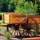 Garden Flower Cart by DeeZ (D L Honeycutt)