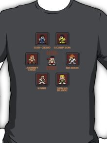 8-bit Mortal Kombat 'Megaman' Stage Select Screen T-Shirt