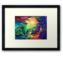 Colours of Sunshine  Framed Print