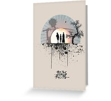 Samurai Champloo - Sunset Greeting Card