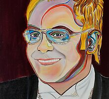 Sir Elton by Giselle Luske