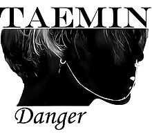 Face Taemin - Danger by kpoplace