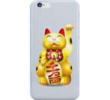Money Cat Gold iPhone Case/Skin
