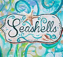 Seashells III by Jan Marvin by Jan Marvin