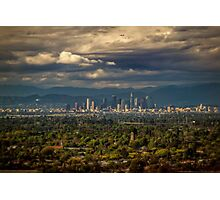 Downtown Los Angeles from Signal Hill Photographic Print