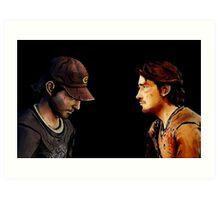 So.. its Luke and Nick.. Art Print