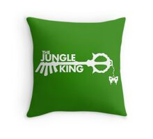 The Jungle King Throw Pillow