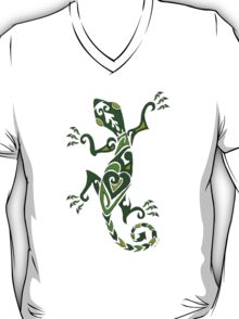 Lizard Tattoo -textured T-Shirt