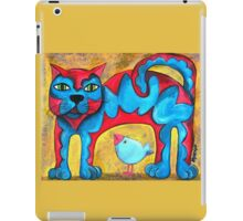 Catius Maximus and the little Blue Bird  iPad Case/Skin