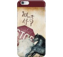 If What? iPhone Case/Skin