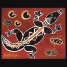 Tribal Crocodile by Kayleigh Walmsley