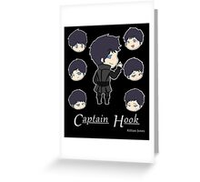 A Little Hooked Greeting Card