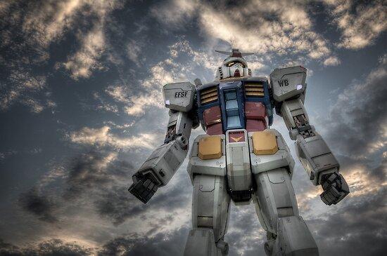 Gundam RX-78-2 by Phillip Munro