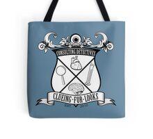 Sherlock's School of Clueing Tote Bag
