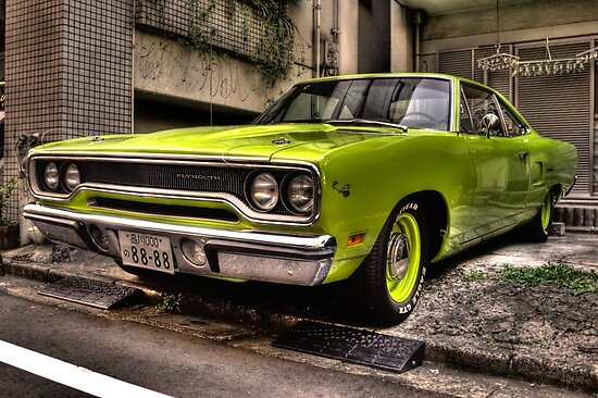 1970 Plymouth Road Runner by Phillip Munro
