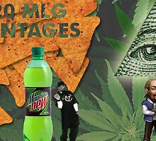 Mountain Dew 420 Snoop Dog  by Hektiiclothes