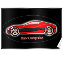 Rimac Concept One  All-Electric SuperCar Poster