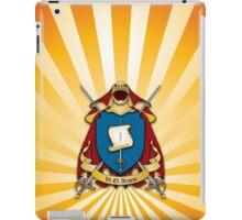 Assume Arms Coat of Arms iPad Case/Skin