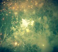 Big Bang - Fireworks from Fiestas del Apostol by Alexandra Vaughan Photography & Design