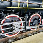 Locomotive Wheels (2) by Mark Fendrick