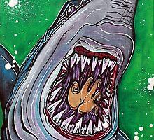 Shark Kill Zone by Laura Barbosa