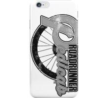 Roadrunner Pedicab, Grunge Gray iPhone Case/Skin