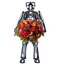 cyberman with flowers  by sherlokian