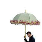 moriarty with umbrella by sherlokian