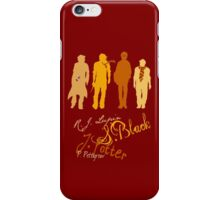 Four Marauding Marauders iPhone Case/Skin