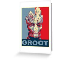 Groot Hope Greeting Card