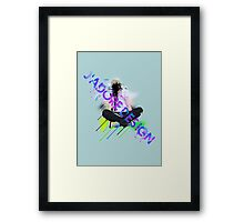 J'adore Design: Be Seated Framed Print
