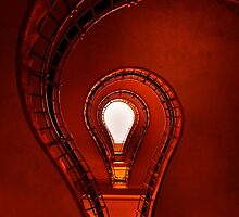 The lightbulb staircase by JBlaminsky