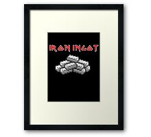 Iron Ingot Framed Print