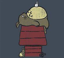 Snoopy Totoro by SonOfaColibri