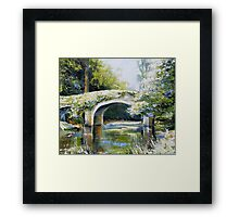 Derrybawn bridge Framed Print