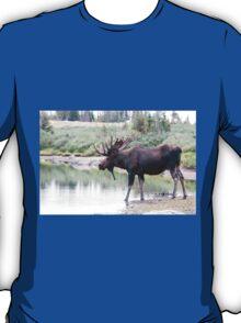 Thirsty moose a Thursday morning T-Shirt