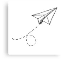 Paper Airplane 9 Canvas Print