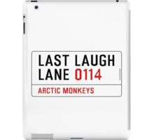 Arctic Monkeys - Fluorescent Adolescent Last Laugh Lane iPad Case/Skin
