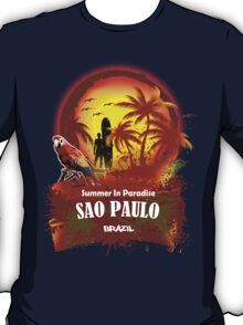 Just A Little Time In Sao Paulo T-Shirt